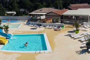 camping avec piscine arcachon